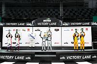 Podium:<br /> #21: Muehlner Motorsports America Duqueine M30-D08, P3-1: Moritz Kranz, Laurents Hoerr<br /> #54: MLT Motorsports Ligier JS P320, P3-1: Dakota Dickerson, Josh Sarchet<br /> #40: JDC MotorSports Duqueine M30-D08, P3-1: Keith Grant, David Grant