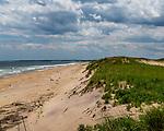 Plum Island beach at the Parker River National Wildlife Refuge in Newburyport, Massachusetts, USA