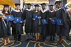 May 17, 2014; Master Degree graduates at the 2014 Graduate School ceremony. Photo by Matt Cashore/University of Notre Dame