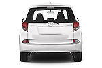 Straight rear view of a 2015 Toyota Verso-S skyview 5 Door Hatchback 2WD Rear View  stock images