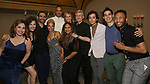 "Andrea Burns, Tessa Grady, Javier Munoz, Tilly Evans-Krueger, Christopher Jackson, Helen Hunt, Tracie Toms, David Garrison, Mateo Ferro, Daniel Ching and Malik Shabazz Kitchen attend the Opening Night performance afterparty for ENCORES! Off-Center production of ""Working - A Musical""  at New York City Center on June 26, 2019 in New York City."