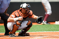 Rupp, Cameron 0425.jpg.  Big 12 Baseball game with Texas A&M Aggies at Texas Lonhorns  at UFCU Disch Falk Field on May 9th 2009 in Austin, Texas. Photo by Andrew Woolley.