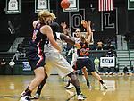 Tulane Women's Basketball battles Auburn and falls, 70-65, at Devlin Fieldhouse.