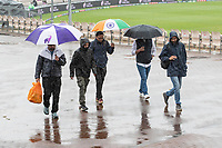 The return of heavy rain caused abandonment of any prospect of play during India vs New Zealand, ICC World Test Championship Final Cricket at The Hampshire Bowl on 18th June 2021