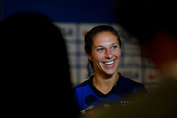 ORLANDO, FL - MARCH 05: Carli Lloyd #10 of the United States during a game between England and USWNT at Exploria Stadium on March 05, 2020 in Orlando, Florida.