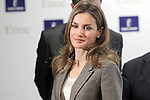 """Princess Letizia of Spain during the opening of the home for the elderly """"El Greco"""".October 29,2013. (ALTERPHOTOS/Acero)"""
