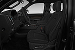 Front seat view of a 2018 Ford Expedition XLT MAX 4x2 5 Door SUV front seat car photos