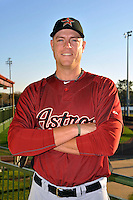 Feb 25, 2010; Kissimmee, FL, USA; The Houston Astros pitcher Evan Englebrook (54) during photoday at Osceola County Stadium. Mandatory Credit: Tomasso De Rosa/ Four Seam Images