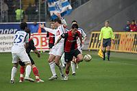 Martin Fenin (Eintracht) im Zweikampf mit Tomas Zdebel (Bochum)<br /> Eintracht Frankfurt vs. VfL Bochum, Commerzbank Arena<br /> *** Local Caption *** Foto ist honorarpflichtig! zzgl. gesetzl. MwSt. Auf Anfrage in hoeherer Qualitaet/Aufloesung. Belegexemplar an: Marc Schueler, Am Ziegelfalltor 4, 64625 Bensheim, Tel. +49 (0) 6251 86 96 134, www.gameday-mediaservices.de. Email: marc.schueler@gameday-mediaservices.de, Bankverbindung: Volksbank Bergstrasse, Kto.: 151297, BLZ: 50960101