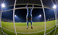 STANFORD, CA - November 9, 2018: Alison Jahansouz at Laird Q. Cagan Stadium. The top seeded Stanford Cardinal defeated the Seattle Redhawks 3-0 in the opening round of the NCAA tournament.