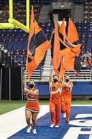 SAN ANTONIO, TX - SEPTEMBER 19, 2020: The University of Texas at San Antonio Roadrunners defeat the Stephen F. Austin Lumberjacks 24-10 at the Alamodome (Photo by Jeff Huehn).