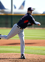 Adam Miller -  Cleveland Indians - 2009 spring training.Photo by:  Bill Mitchell/Four Seam Images