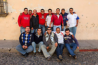 Antigua, Guatemala.  Team of Workers for the  Local Telephone Company.