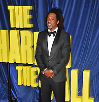 """Shawn Carter (Jay-Z) at the 65th BFI London Film Festival """"The Harder They Fall"""" opening gala,Royal Festival Hall, Belvedere Road, on Wednesday 06th October 2021, in London, England, UK. <br /> CAP/CAN<br /> ©CAN/Capital Pictures"""