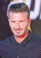WESTWOOD, LOS ANGELES, CA, USA - JULY 17: David Beckham at the Nickelodeon Kids' Choice Sports Awards 2014 held at UCLA's Pauley Pavilion on July 17, 2014 in Westwood, Los Angeles, California, United States. (Photo by Xavier Collin/Celebrity Monitor)
