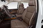 Front seat view of 2018 Chevrolet Silverado-1500 High-Country-Crew 4 Door Pickup Front Seat  car photos