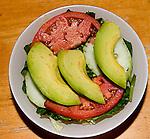 Salad, Hy-Vong Restaurant, Little Havana, Miami, Florida