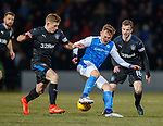 Greg Docherty, George Williams and Andy Halliday