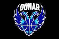 06-03-2021: Basketbal: Donar Groningen v ZZ Feyenoord: Groningen  logo Donar