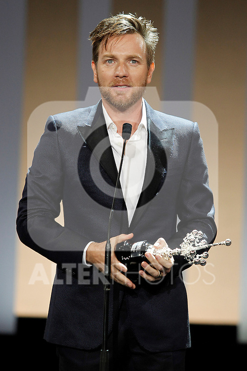 Ewan McGregor receives the Donosti Award during the 60th San Sebastian Donostia International Film Festival - Zinemaldia.September 27,2012.(ALTERPHOTOS/ALFAQUI/Acero)