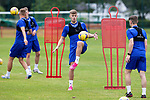 St Johnstone Training...02.07.21<br />Reece Devine pictured in training today<br />Picture by Graeme Hart.<br />Copyright Perthshire Picture Agency<br />Tel: 01738 623350  Mobile: 07990 594431