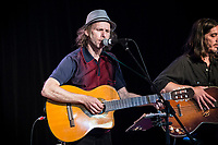 Yves Desrosiers perform at <br /> the  Festival en Chanson of Petite-Vallee in Gaspesia on July 5,2014. He was joined at the end by Robert Charlebois.<br /> <br /> Photo : Agence Quebec Presse  - Frederic SeguinYves Desrosiers perform at <br /> the  Festival en Chanson of Petite-Vallee in Gaspesia on July 5,2014. <br /> <br /> Photo : Agence Quebec Presse  - Frederic Seguin