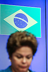 Brazilian President Dilma ROUSSEFF in a press conference at the end of the 7th summit EU-Brazil in Brussels, Feb.24. The focus of the summit is on improving trade ties and cooperation between the EU and Brazil, Regional issues in Latin America, as well as international security questions such as the situation in Syria.