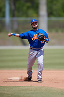 New York Mets Michael Paez (29) during practice before a minor league Spring Training game against the Miami Marlins on March 26, 2017 at the Roger Dean Stadium Complex in Jupiter, Florida.  (Mike Janes/Four Seam Images)