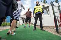 2015/07/10 Berlin | Flüchtlingscontainer in Marzahn-Hellersdorf