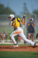 Mason Wilson (2) during the WWBA World Championship at Lee County Player Development Complex on October 8, 2020 in Fort Myers, Florida.  Mason Wilson, a resident of Orlando, Florida who attends West Orange High School, is committed to Rollins College.  (Mike Janes/Four Seam Images)