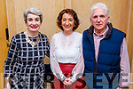 Noreen Quirke, Sheila and Noel Hartnett working hard behind the scenes at the Recovery Haven fundraiser in the Ballygarry House Hotel on Monday.