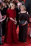 Cristina Cifuentes and Manuela Carmena attends red carpet of Goya Cinema Awards 2018 at Madrid Marriott Auditorium in Madrid , Spain. February 03, 2018. (ALTERPHOTOS/Borja B.Hojas)