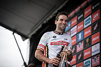 Baptiste Planckaert (BEL/Wallonie Bruxelles) is the new GC leader in the Bingoal Cycling Cup. <br /> <br /> <br /> Circuit de Wallonie 2019<br /> One Day Race: Charleroi – Charleroi 192.2km (UCI 1.1.)<br /> Bingoal Cycling Cup 2019