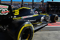 March 15, 2019: Daniel Ricciardo (AUS) #3 from the Renault F1 Team leaves his garage during practice session two at the 2019 Australian Formula One Grand Prix at Albert Park, Melbourne, Australia. Photo Sydney Low