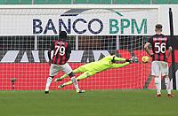 Milano  29-11-2020<br /> Stadio Giuseppe Meazza<br /> Campionato Serie A Tim 2020/21<br /> Milan - Fiorentina<br /> nella foto:   Kessie fallisce il penalty                       <br /> foto Antonio Saia Kines Milano