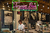 Termini Brothers italian bakery at the Reading Terminal Market, Philadelphia, Pennsylvania, USA