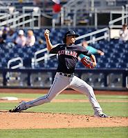 Carlos Vargas - Cleveland Indians 2021 spring training (Bill Mitchell)