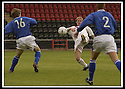 17/8/02               Copyright Pic : James Stewart                     .File Name : stewart-airdrie v stranraer 05.PAUL ARMSTRONG CHIPS THE BALL INTO THE NET TO SCORE AIRDRIE'S FIRST GOAL.....James Stewart Photo Agency, 19 Carronlea Drive, Falkirk. FK2 8DN      Vat Reg No. 607 6932 25.Office : +44 (0)1324 570906     .Mobile : + 44 (0)7721 416997.Fax     :  +44 (0)1324 570906.E-mail : jim@jspa.co.uk.If you require further information then contact Jim Stewart on any of the numbers above.........