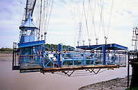Großbritannien, Wales, Transporter Bridge in Newport