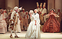 2001 - DER ROSENKAVALIER  - Herr von Faninal (James Maddalena) argues with Sophie (Nancy Allen Lundy) over upcoming wedding in act II of Opera Pacific's production of Der Rosenkavalier by Richard Strauss.