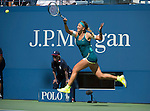 Victoria Azarenka (BLR) defeats Varvara Lepchenko (USA) 6-3, 6-4 at the US Open in Flushing, NY on September 7, 2015.