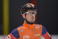 SPEEDSKATING: 24-11-2019 Tomaszów Mazowiecki (POL), ISU World Cup Arena Lodowa, Team Pursuit Men Division A (NED), Douwe de Vries, ©photo Martin de Jong
