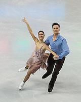 Boston, Massachusetts - March 30, 2016: ISU World Figure Skating Championships Boston 2016 - Dance, at TD Garden.