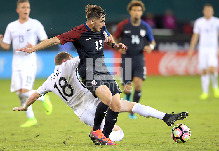 Washington, D.C. - October 11, 2016: The U.S. Men's National played to a 1-1 tie with the New Zealand National Team in an international friendly at RFK Stadium.