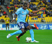 150426 A-League Football - Phoenix v Sydney FC