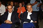 GIOVANNI SABATUCCI CON GAETANO QUAGLIARELLO<br /> PREMIO LETTERARIO CAPALBIO 2003