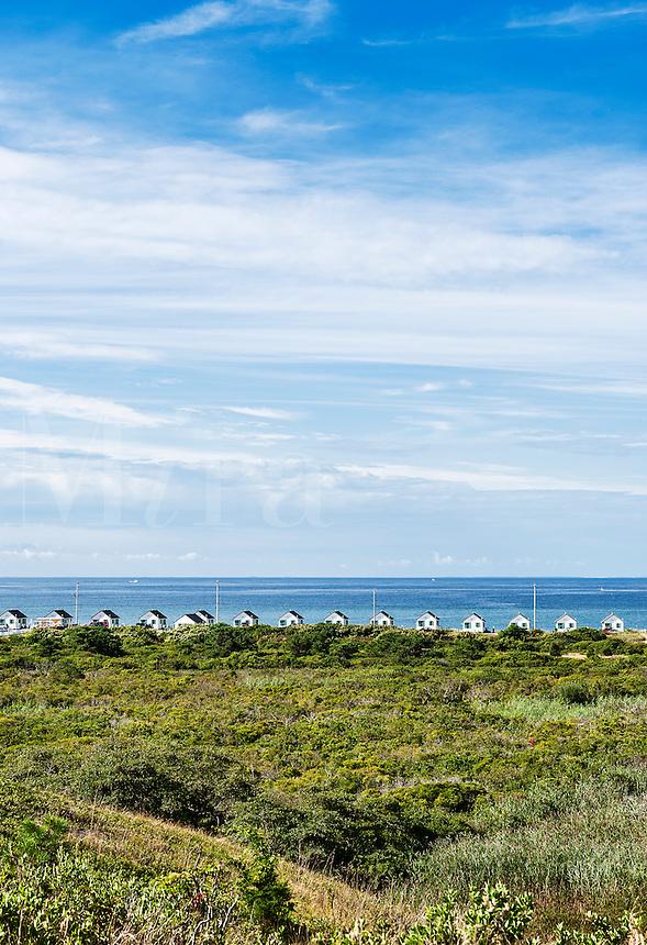 Rental beach cottages, Truro, Cape Cod, MA, Massachusetts, USA