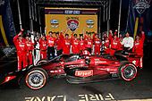 #8: Marcus Ericsson, Chip Ganassi Racing Honda celebrates in victory lane with his crew