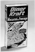 french labeled Kraft Dinner in Canada , known as macaroni au fromage.