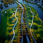 Marsh Landing Golf Course - helicopter aerial